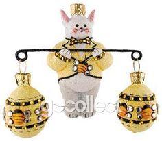 Bunny Balance (Bees) Patricia Breen (Eggs, Easter, Spring, Skep)