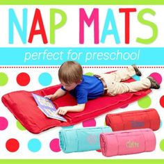 NEW Spirit RED Nap Mat Back 2 School Collection by MJSpiritWear, $39.00