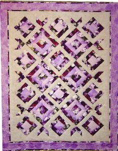 Lilac quilt - must do this