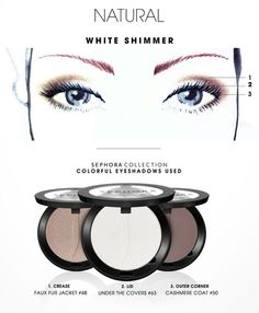 COLORFUL: Natural White Shimmer HOW-TO #SephoraCollection #Sephora