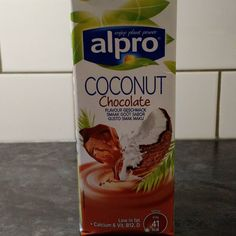 Carnt wait to try this chocolate coconut milk.  #vegan #alpro by kelly_hemmings_