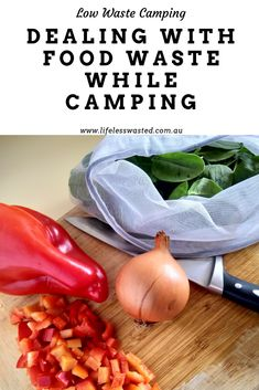 Low waste camping can be challenging, be more eco friendly while in the great outdoors with these food waste tips Compost Container, Composting At Home, Steamed Broccoli, Frozen Meals, Batch Cooking, Food Waste, Veg Recipes, Cauliflower Recipes, A Food