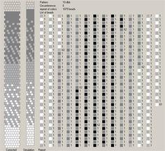 50 схем для вязания жгутов на 5-6 бисерин