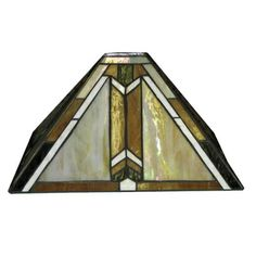Stained glass lamp shade mission style antique sg lamps designer stained glass lamp shade mozeypictures Image collections