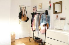 Decoração: Araras de roupas!   De Repente Cresci