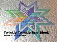 Twinkle Twinkle Quilt Star Block! FAST, FUN, & EASY. NO Paper Piecing or Y Seams! - Keeping u n Stitches Quilting | Keeping u n Stitches Quilting