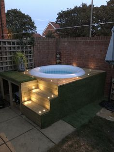 Hot Tub Surround, Hot Tub Deck, Spas, Pools, Landscaping, Garden, Outdoor Decor, Top, House