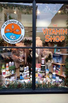 The Vitamin Shop Christmas 2015 canadianvitaminshop.com  PropaganZa Visual Display & Design Visual Display, Display Design, Christmas Window Display, Christmas 2015, Vitamins, Shopping
