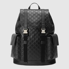 424c177251 Shop the Gucci Signature backpack by Gucci. A backpack made in heat  debossed Gucci Signature