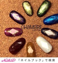 冬/オールシーズン/ハンド/ホログラム/ラメ - CHAMBREのネイルデザイン[No.3749238]|ネイルブック Japanese Nail Art, Jam And Jelly, Gorgeous Nails, Bling, Design, Fashion, Moda, Jewel, Fashion Styles