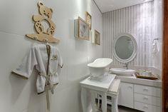 Banho do Bebê em parceria com Morar Mais BH,um toque provençal no projeto executado.