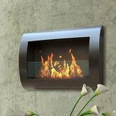 Found it at Wayfair - Anywhere Fireplaces Chelsea Wall Mount Bio Ethanol Fireplace (for the master bathroom in stainless steel)