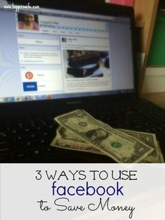 Did you know that you can use Facebook to save money? Check out these top three ways to use Facebook to save you the most money possible.