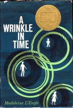 This was the cover art of A Wrinkle in Time when I first read it way back when it first came out. Since then, I have probably read it ten times, and I need to get the 50th anniversary edition and READ IT AGAIN. If you've NEVER read it, GO GET IT NOW!!  :)