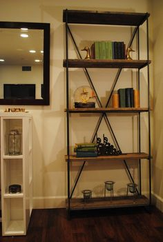 croft house mossam bookcase 6 tall x 72 or 36wide x amazoncom furniture 62quot industrial wood