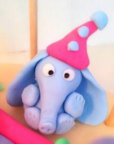 Fondant elephant