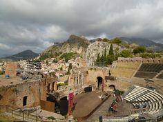 """Teatro Greco"" Taormina Sicilia"