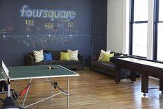Foursquare's Soho HQ - New York, Estados Unidos - 2012 - Designer Fluff