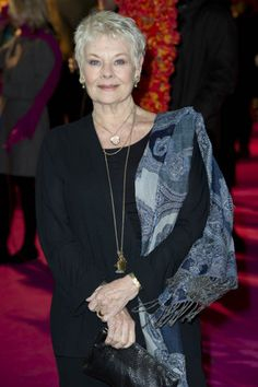 God bless you, Judi Dench, you continue to entertain me over the years!