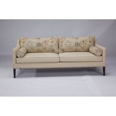 @Overstock - Sink into style with Jar designs Postale Sofa. This contemporary sofa is upholstered using postal printed graphic linen blend fabric complimented with tapered coffee finished legs and  nail head detailinghttp://www.overstock.com/Home-Garden/JAR-Designs-Postale-Sofa/7411246/product.html?CID=214117 $1,659.99
