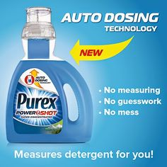 Cotton Pickin Cute: NEW!  Purex Powershot Laundry Detergent Review and...Enter for a chance to #win 1 of 2 FREE coupons for a bottle of the New Purex PowerShot laundry detergent on my blog at: http://cottonpickincute.blogspot.com/2015/02/new-purex-powershot-laundry-detergent.html