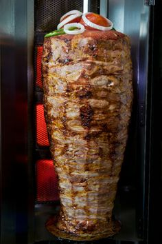 The Turkish influence on German society: Turkish Doner // Very popular fast food here in Germany.