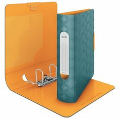Leitz Retro Chic Active 80mm Lever Arch File - Blue: Amazon.co.uk: Office Products