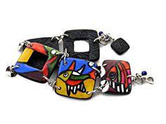 Bracelet poissons multicolores émaillé en pâre polymère // bracelet de créateur // bracelet perles carrées. de la boutique Chezpajope sur Etsy Boutique, Etsy, Personalized Items, Bracelets, Fashion, Pisces, Beads, Unique Jewelry, Enamel