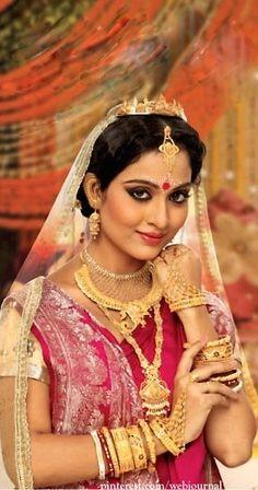 Bengali Bridal benarasi