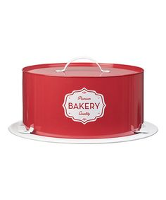 Another great find on #zulily! 'Premium Bakery' Cake Saver #zulilyfinds