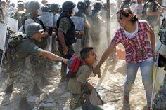 Los refugiados suelen pasar por Grecia, Macedonia y Serbia antes de llegar a Hungría, el primer país de la Unión Europea al que arriban. Foto: EFE