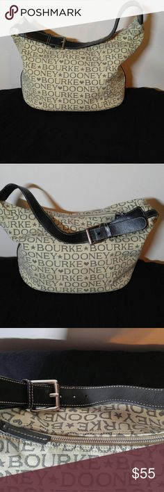 Sale! Nice Clean Authentic Dooney & Bourke Purse Authentic Dooney & Bourke Shoulder Purse! This Purse is in EXCELLENT CONDITION !! Size is 17 X 10 with a 9 inch drop. Dooney & Bourke Bags Shoulder Bags