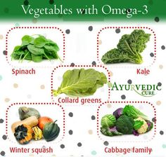 Vegetables With Omega-3