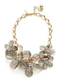 Floral Delacorte Necklace by kate spade new york on Gilt
