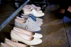 Get on our feet now! Shoes by Rachel Antonoff. #style