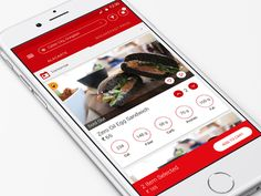Health oriented food app designed by Dilsher Singh. Egg Sandwiches, App Design, Mobile Ui, Health, Food, Health Care, Eten, Application Design, Healthy