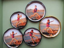 Old jar lids (when the jar is missing? Recyle, Bottle Top, Reuse Recycle, Jar Lids, Homemade Crafts, Photo Craft, Picture Frames, Art Projects, Decorative Plates