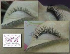 Natual eyelash extensions by Beaute Boutique