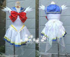 Sailor Moon SM Tsukino Usagi Cosplay Costume Dress | eBay