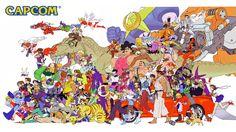 One of my favorite Capcom illustrations, by Capcom artist Kinu Nishimura!