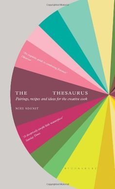 The Flavour Thesaurus by Niki Segnit Ever wondered why one flavour works with another? Or lacked inspiration for what to do with a bundle of beetroot? The Flavour Thesaurus is the first book to examine what goes with what, pair by pair. The book is divided into flavour themes including Meaty, Cheesy, Woodland and Floral Fruity.