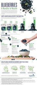 Skinny Diva Diet: Infographic: Blueberries, a Handful of Health
