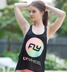 Flywheel Ombre Rope Strap Tank #flywheelsports #nevercoast