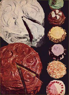 cakes c. 1950