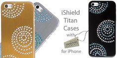 iPhone Swarovski tokok iShield - iPhone Swarovski luxus kiegészítők,iPhone design tokok,hátlapok - iShield