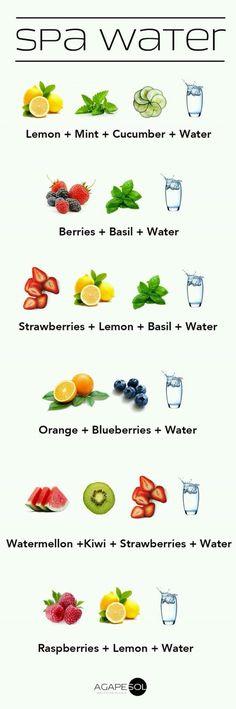 Begin je dag altijd met water.. Het is niet alleen gezond maar ook heel erg lekker. Zeker wanneer je een van onderstaande uitprobeert!