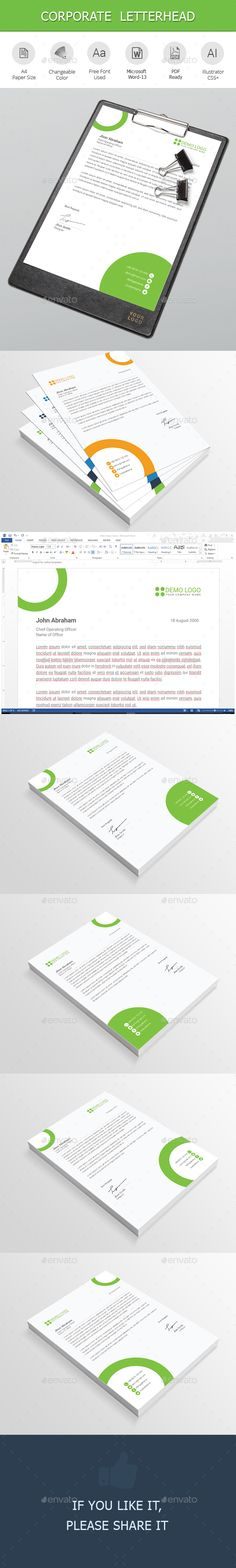 Letterhead Letterhead, Stationery printing and Print templates - free letterhead templates download