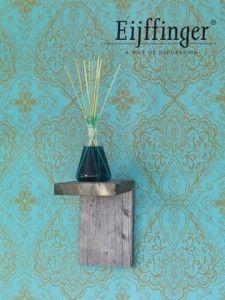 Wallpaper inspired by the Orient/Behang geïnspireerd op het Verre Oosten