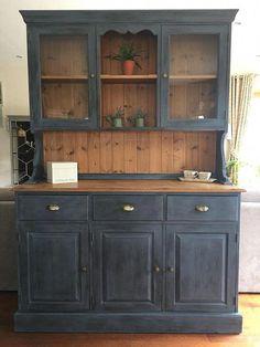 Rustic antique kitchen idea.
