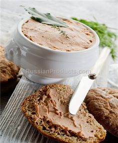Mother Goose Liverwurst, Food, Meat Products, Canned Meat & Pate Chicken Liver Pate, Chicken Livers, Foie Gras, Canned Meat, Mother Goose, Quick Snacks, Deli, Breakfast Recipes, Peanut Butter
